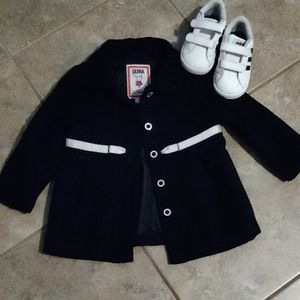 Olivia for Gymboree Black Coat
